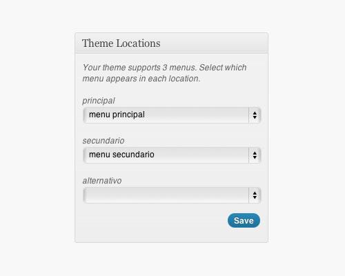 imagen menu personalizado